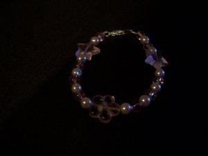 Girls childs Star and Heart Bracelet