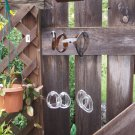 Recycled bottle wind chime