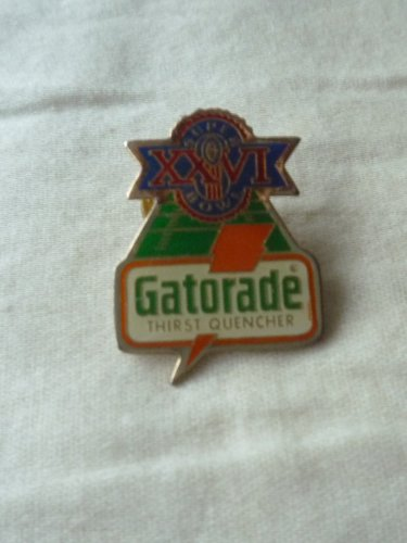 Super Bowl XXVI Gatorade pin