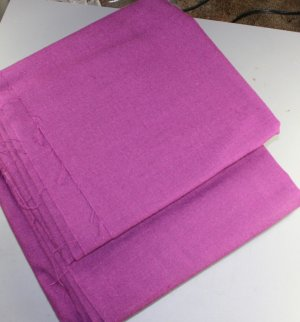 Poly Rayon Linen Dark Purple-VINTAGE FABRIC 2.75 YD