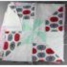 Pinwheel within a Pinwheel Quilt Square-Machine Pieced