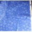 Cotton-Blue Ozark Calicos-FabriQuilt-VINTAGE FABRIC Fat Qtr