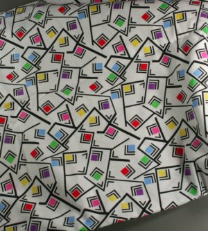Shakin Shapes- Print Concepts Cotton Fabric 1yd