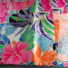 Vintage Fabric -Tropical Flower- FABRIC VINTAGE Cotton
