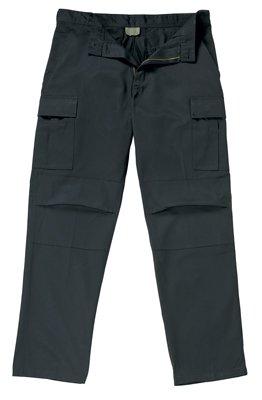 5773 ULTRA FORCE ZIP FLY BLACK BDU PANTS LARGE - LONG