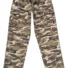 7453 ULTRA FORCE BDU PANTS - RETRO CAMO SMALL