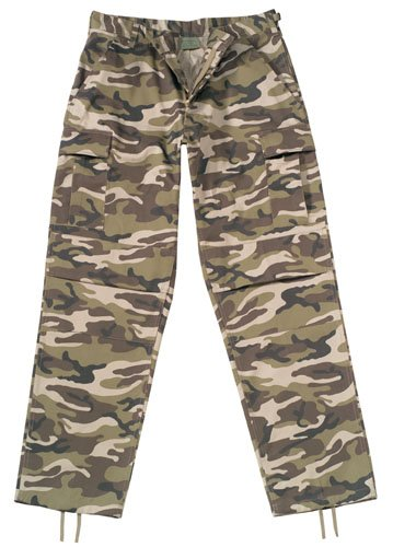 7453 ULTRA FORCE BDU PANTS - RETRO CAMO LARGE