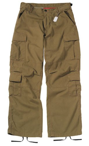 2886 ULTRA FORCE RUSSET BROWN VINTAGE PARATROOPER FATIGUES SMALL