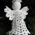 Crochet Angel Christmas Ornament Pico 1-4 Handmade by 1733 Shoppe