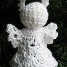 Crochet Angel Christmas Ornament Shell 1-4 Handmade by 1733 Shoppe