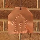 Wind Chimes Copper Cedar Tuned 36 inch Birdhouse Sail Handmade by 1733 Shoppe