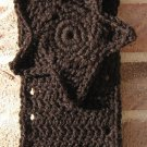 Headband Crochet Black UPDown Star Ear Warmer Head Wrap B9