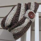 Crochet Pattern PDF - Infinity Scarf Cowl Chunky - Electronic PDF File  P1