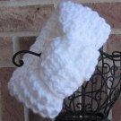 Headband Knit Hurdle Turban Knot White Ear Warmer Head Wrap F1
