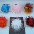 Multi Color Marabou korker