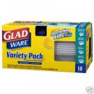 Glad 18 Piece Food Storage Microwave & Dishwasher Safe