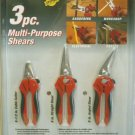 3 Pk Multi-Purpose Shears
