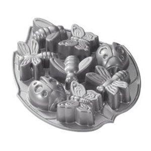 Bundt Pan Nordic Ware Aluminum Mini Bundt Pan Garden Bugs