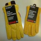 Wolverine Lined Premium Grain Leather Gloves 2 Pk  Medium