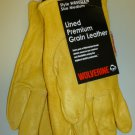 Wolverine Lined Premium Grain Leather Gloves 2Pk X-Large