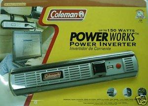Coleman Fused Power Works Power Inverter 150 \ 300Watt
