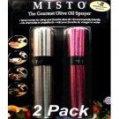 Misto Stainless Steel Gourmet Oil Sprayer 2 Pack