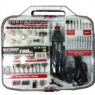 Mastergrip Rotary Tool Kit 190 Piece Set