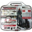 Mastergrip Rotary Tool Kit 190 Piece Set