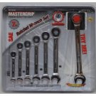 7 Piece Ratcheting Wrench Set 5\16 thru 3/4``