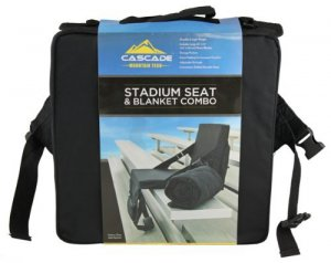 Blanket Seat Mountain Tech Stadium Seat & Blanket Combo
