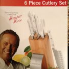 Wolfgang Puck 6Pc. Cutlery Set  White