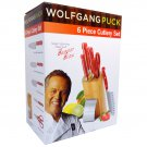 Wolfgang Puck 6Pc. Cutlery Set  RED