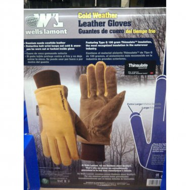 Gloves Wells Lamont  Leather Work Gloves XL