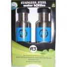 Cyclops Stainless Steel Water Bottles 2 Pack Blue