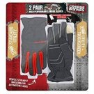 Grease Monkey 2 Pair Performance Gloves Medium