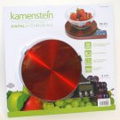 Kamenstein Digital Kitchen Scale RED