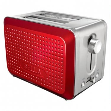 Bella Dots Collection Toaster  RED