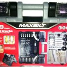 MAXBILT 109 Pc. Drill & Drive Set With Space Saving Hard Case