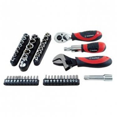 WorkPro 50 Pc. Stubby Tool Set