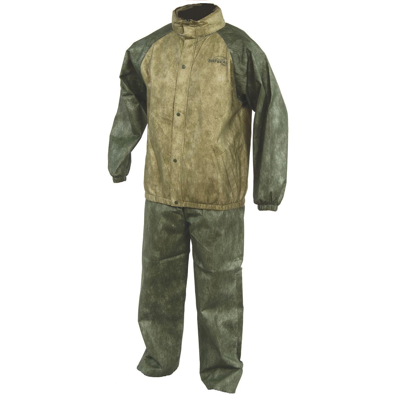 Natural Gear Rain Coat Camping Hunting Fishing Traveling