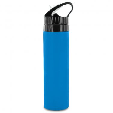 Smart Planet Silicone Hydration Bottle  BLUE