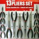 Specialty 13 Piece Plier Set