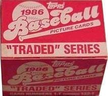 TOPPS 1986 TRADED SET