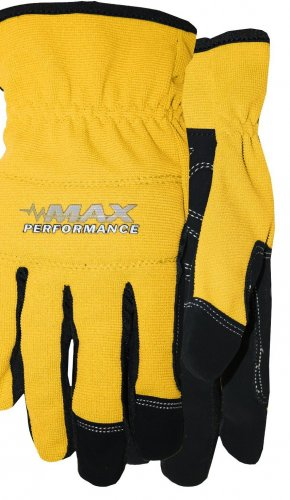 MAX PERFORMANCE GLOVE SIZE - LARGE \ COLOR YELLOW