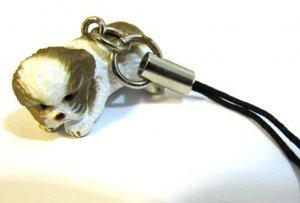 King Charles Spaniel Dog Cellphone Phone Strap Keychain