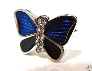 Unique Animal Butterfly Cufflinks diamond shirt man tie *FRee Shipping
