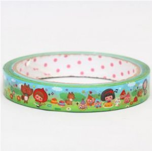 Little Red Riding Hood Picnic  Deco Adhesive Sticker Tape 1.5 cm width x 25m long