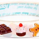 Ginger Bread Chocolate Cupcake Adhesive Sticker Tape 1.5 cm width x 25m long