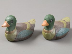 Ceramic Duck Figurines
