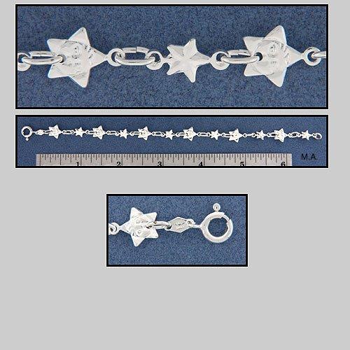 SILVER STARS BRACELET